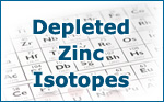 Depleted Zinc Isotopes